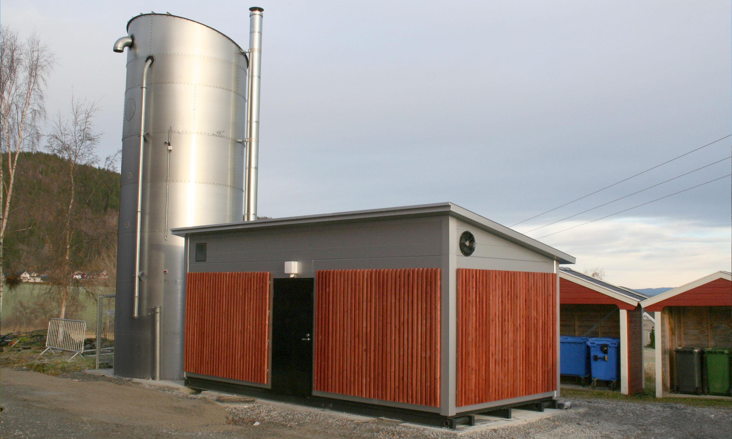 biovarme til barneskole, idrettshall, basseng og barnehage i Mosvik.
